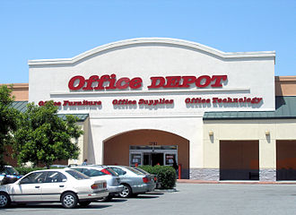 Office Depot - Office Depot storefront in East Palo Alto, California