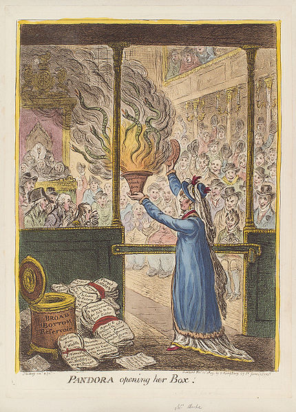 Ficheiro:Pandora opening her box by James Gillray.jpg