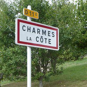 Charmes la c te wikip dia for Code postal charmes