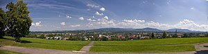 Skoczów - Image: Panorama Skoczow