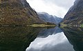 Panorama of Nærøyfjord - The world's most beautiful fjord (31685630390).jpg