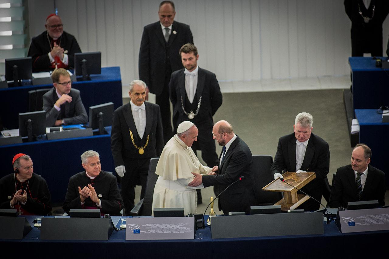 Pape François Parlement européen Strasbourg 25 nov 2014 09.jpg