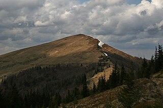 Mount Parashka mountain in Ukraine