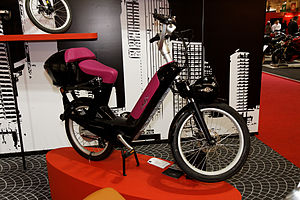 Paris - Salon de la moto 2011 - Velosolex électrique - 001.jpg