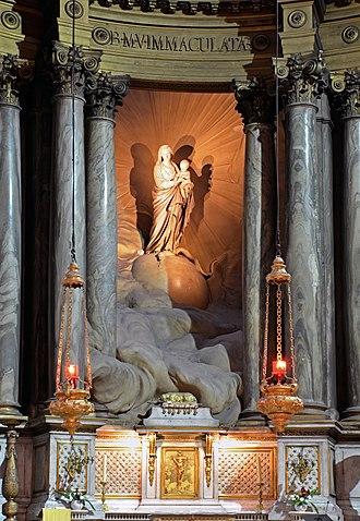 Jean-Baptiste Pigalle - Image: Paris 06 St Sulpice chap V 02
