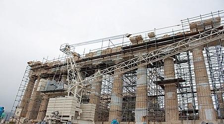 Parthenon scaffolding 2010.jpg
