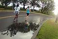 Participants run in the 6th annual Hickam Half-Marathon at Joint Base Pearl Harbor-Hickam, Hawaii, Aug. 11, 2012 120811-N-RI884-031.jpg