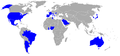 Participating countries in men's football at the 1996 Olympics.png