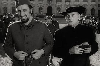 Emile Meyer - Emile Meyer (right) and Timothy Carey in Paths of Glory