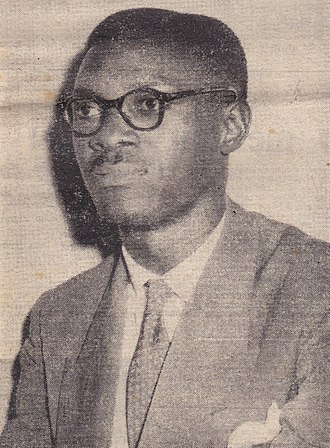 History of the Democratic Republic of the Congo - Patrice Lumumba, founding member and leader of the MNC