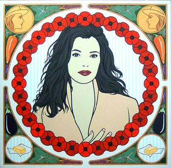 An artist's impression of Nigella Lawson by Pa...