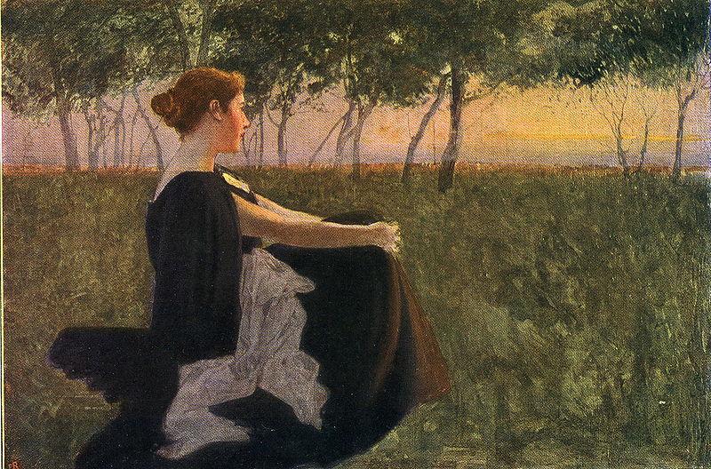 Datei:Paul Hoecker-Abend-1897.jpg