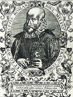 Paulus Melissus German composer
