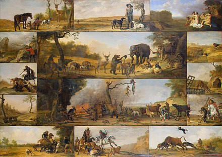 Punishment of a Hunter (c. 1647) by Paulus Potter Paulus Potter - Punishment of a Hunter.jpg