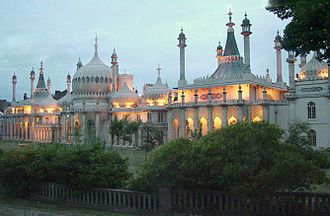 Royal Pavilion - The Royal Pavilion at dusk