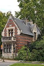 Pabellón de entrada a Bois de Boulogne
