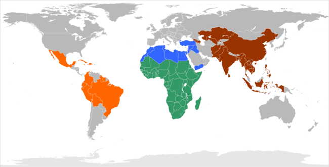 Countries of operation