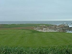 Monterey Peninsula Country Club - Image: Pebblebeach par 3