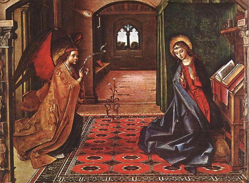 File:Pedro Berruguete Annunciation panel 1450 1540.jpg