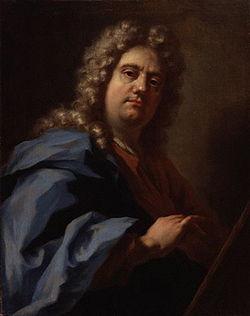 Pellegrini, Giovanni Antonio - selfportrait - circa 1717.jpg