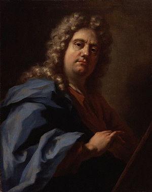 Giovanni Antonio Pellegrini - Selfportrait, c. 1717
