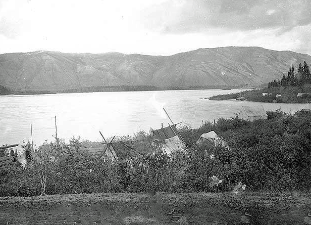 Photograph of the Pelly River