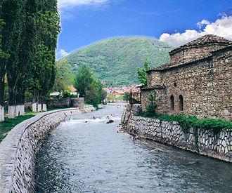 Pena (river) - River Pena in Tetovo