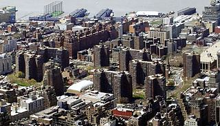 Penn South Residential buildings in Manhattan, New York