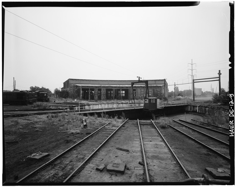 File:Pennsylvania Railroad Improvements, Repair Shop, Vandever and Bowers Streets, Wilmington, New Castle County, DE HAER DEL,2-WILM,33A-5.tif