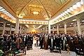 People of Qom province 06 ایران، قم، حرم فاطمه معصومه، دختر موسی بن جعفر، صحن شبستان امام خمینی.jpg