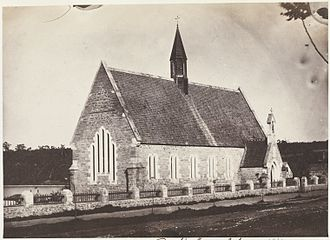 Old Perth Boys School - Perth Boys School, 1861.
