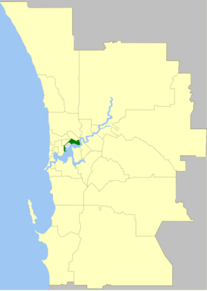 City of Perth - Image: Perth LGA WA