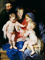 Peter Paul Rubens - The Holy Family with Sts Elizabeth and John the Baptist - WGA20196.jpg