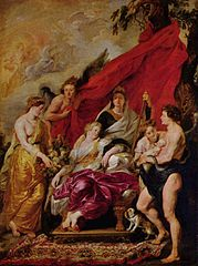 The Birth of the Dauphin at Fontainebleau