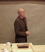 Peter Singer en la Universidad de Oxford