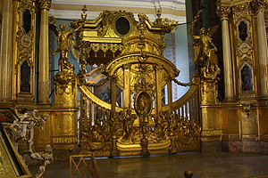 Ivan Zarudny - The icon screen of the Peter and Paul Cathedral has been attributed to Zarudny
