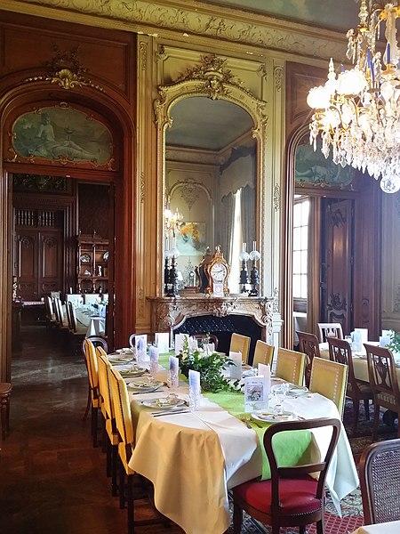 Petit salon: château de Villersexel  Mariage au Château de Villersexel, petit salon