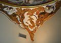 Petxina amb cavall, al·legoria d'Europa, cúpula del palau del marqués de Dosaigües.JPG