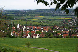 Skyline of Pfeffingen