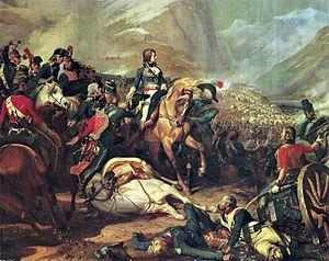Joseph Ocskay von Ocsko - Napoleon at the Battle of Rivoli by Felix Philippoteaux 1845