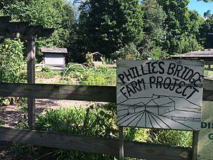 Phillies Bridge Farm - The garden of Phillies Bridge Farm Project 2015