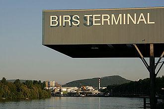 Birsfelden - Birs harbor along the Rhine