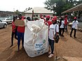 Pictures of people with Recycling Bag for Mission Zero Plastic in Ilorin.jpg