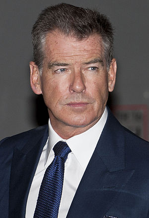 Pierce Brosnan - Pierce Brosnan at the premiere party of Stephen King's Bag of Bones at Fig and Olive Melrose Place in 2011