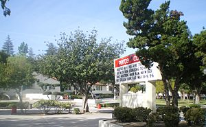 Los Angeles Pierce College - Image: Pierce College Center of Campus