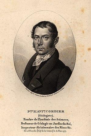 Louis Cordier - Portrait by Ambroise Tardieu (1825)