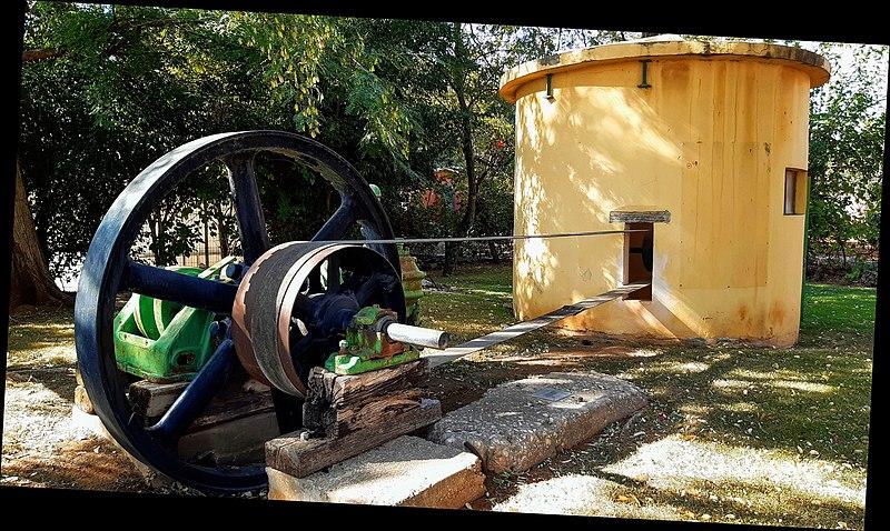 באר המים הראשונה במושב כפר מלל