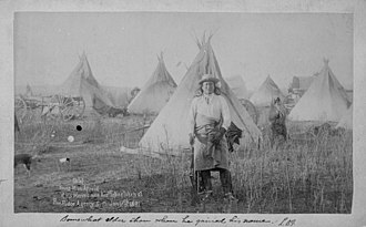 Bibliography of South Dakota history - January 17, 1891: Young Man Afraid of His Horses and his tepee at Pine Ridge