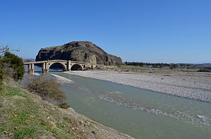 Pineios (Thessaly) - Pineios river near Sarakina