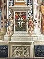 Pinturicchio, liberia piccolomini, 1502-07 circa, stemma piccolomini 1.JPG